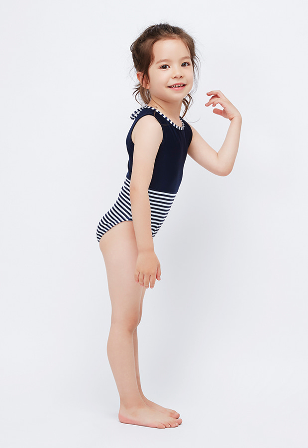 Jessica Suit Mini - Navy / Stripe