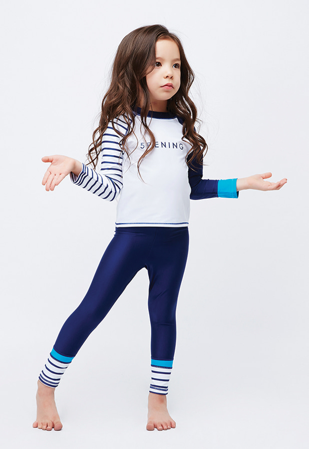 Romeo Rashguard Mini - Navy