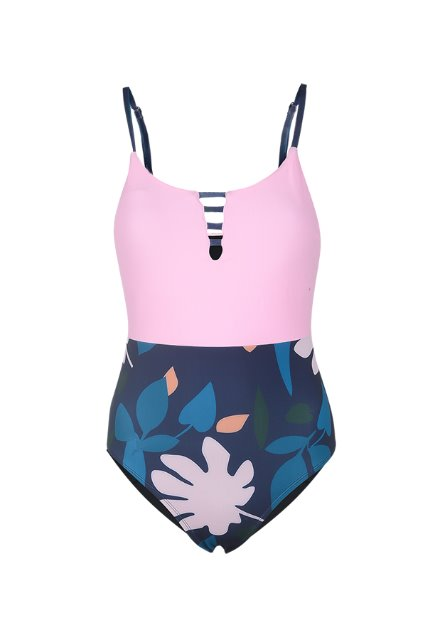 Berry One Piece - Pink / Print