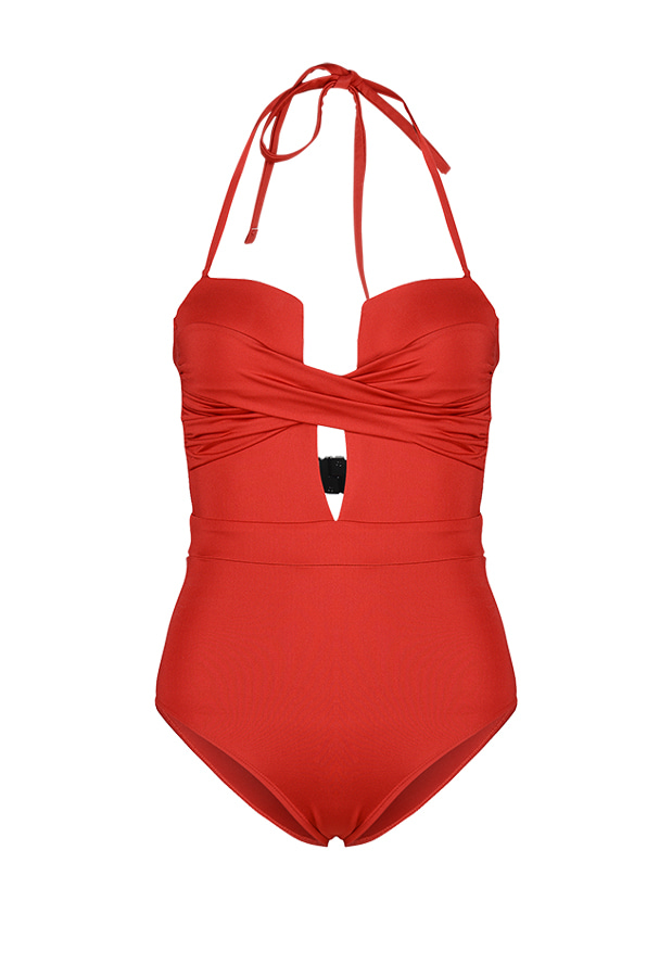 Lizzie One Piece - Rose Red